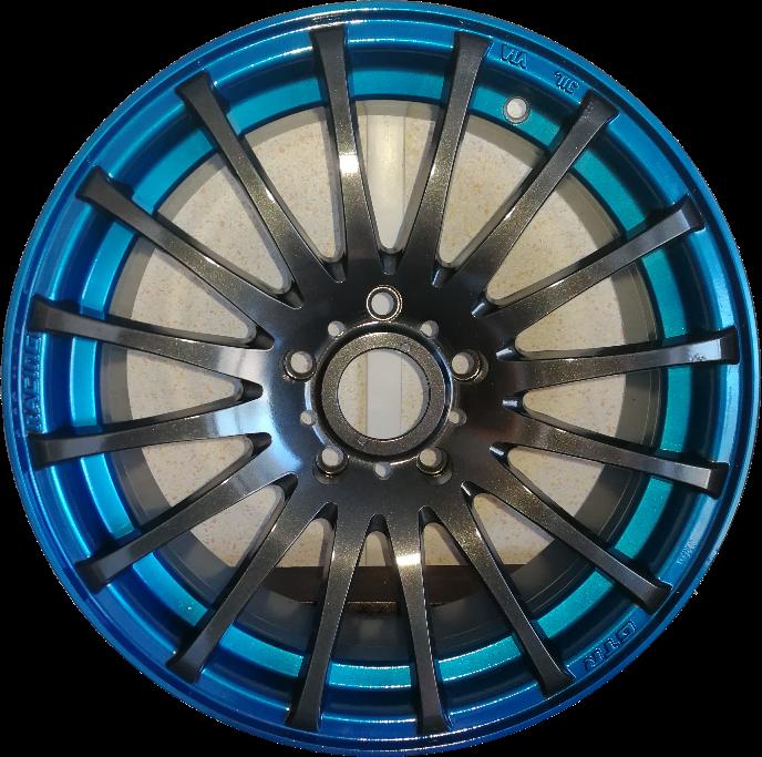 biko bleu foncé